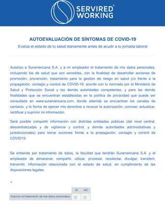 AUTOEVALUACIÓN DE SÍNTOMAS DE COVID-19