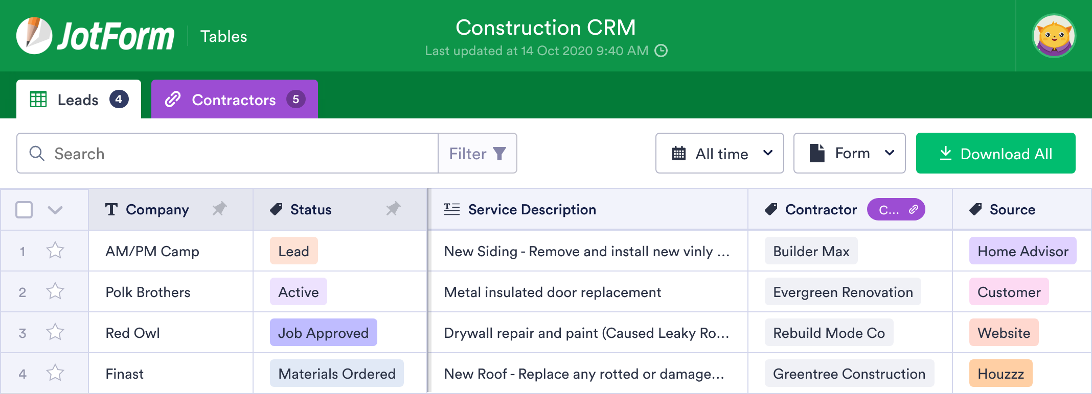 Construction CRM