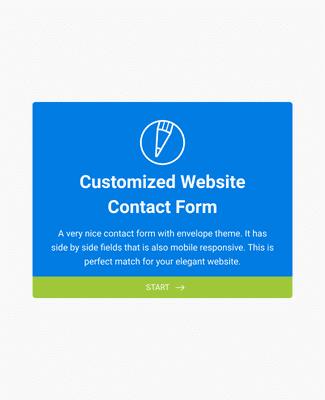 Fancy Envelope Contact Form