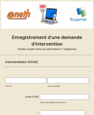 Demande intervention aneth