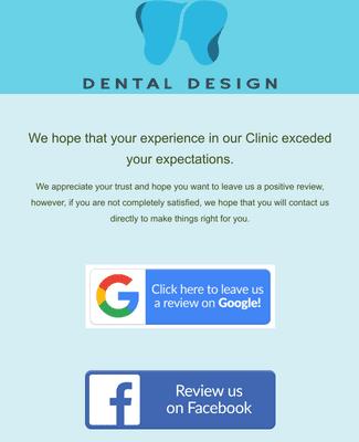 Dental Customer Feedback Form