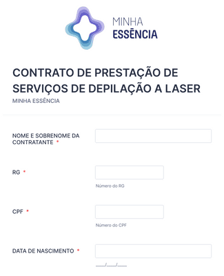 DEPILAÇÃO MODELO NOVO - VENDEDORA - NOME DA CLIENTE - DATA DA VENDA