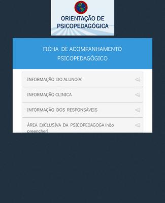 FICHA DE ATENDIMENTO PSICOPEDAGÓGICO - CPM
