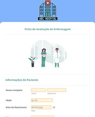 Ficha de Avaliação de Enfermagem