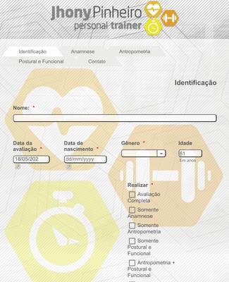 Ficha de Avaliação Física