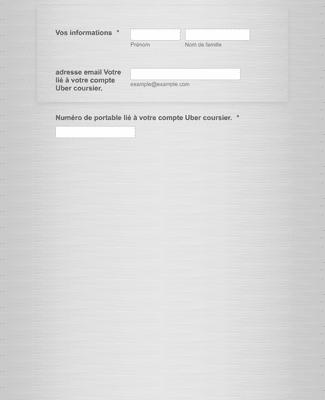 Formulaire de demande de contact