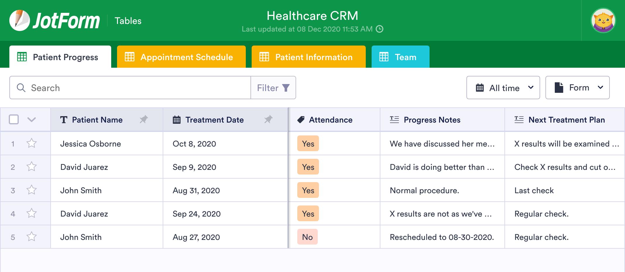 Healthcare CRM