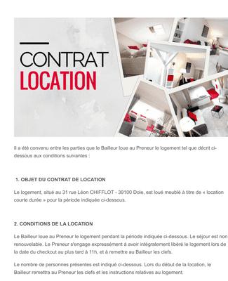 AUTOMATICBNB - contrat de location