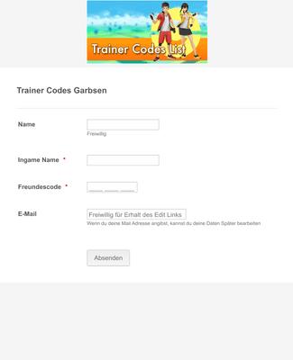 Trainer Codes Garbsen