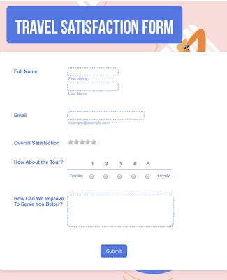 Travel Agency Feedback Form