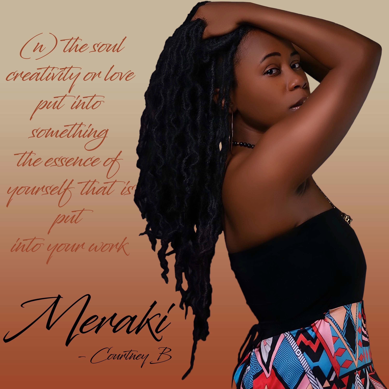 "Courtney B's ""Meraki"" Music Review on WONI Radio"