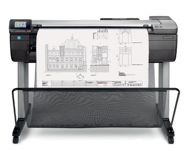 "Hewlett Packard T830 Wide Format Multifunction Printer 36"" Inch Printer"