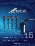 Thermocouple and Temperature Sensor Catalog 16