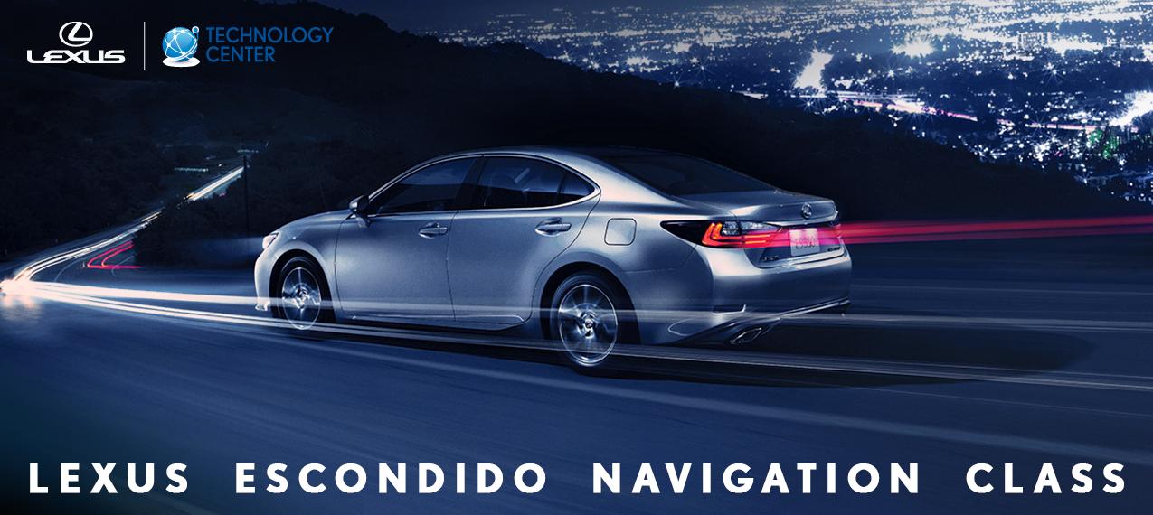 Lexus Escondido Navigation Class