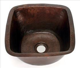 Square Copper SInk