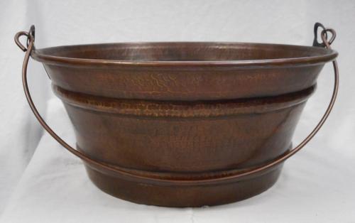 Copper Bucket SInk