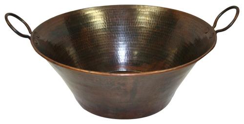 CopperCazo Vessel SInk