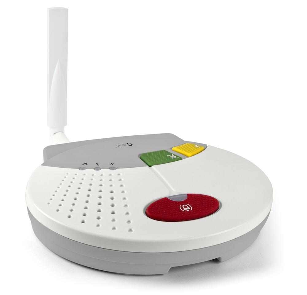 Hausnotruf mit GSM Schnittstelle (benötigt keine Telefonleitung)