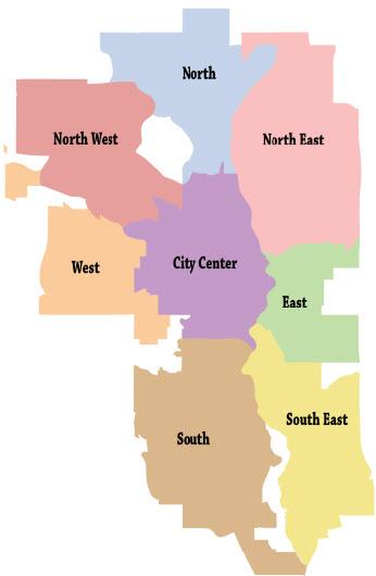 Calgary MLS Map
