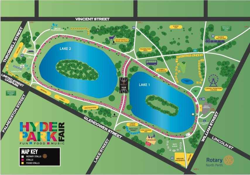 Hyde Park Fair 2020 Map