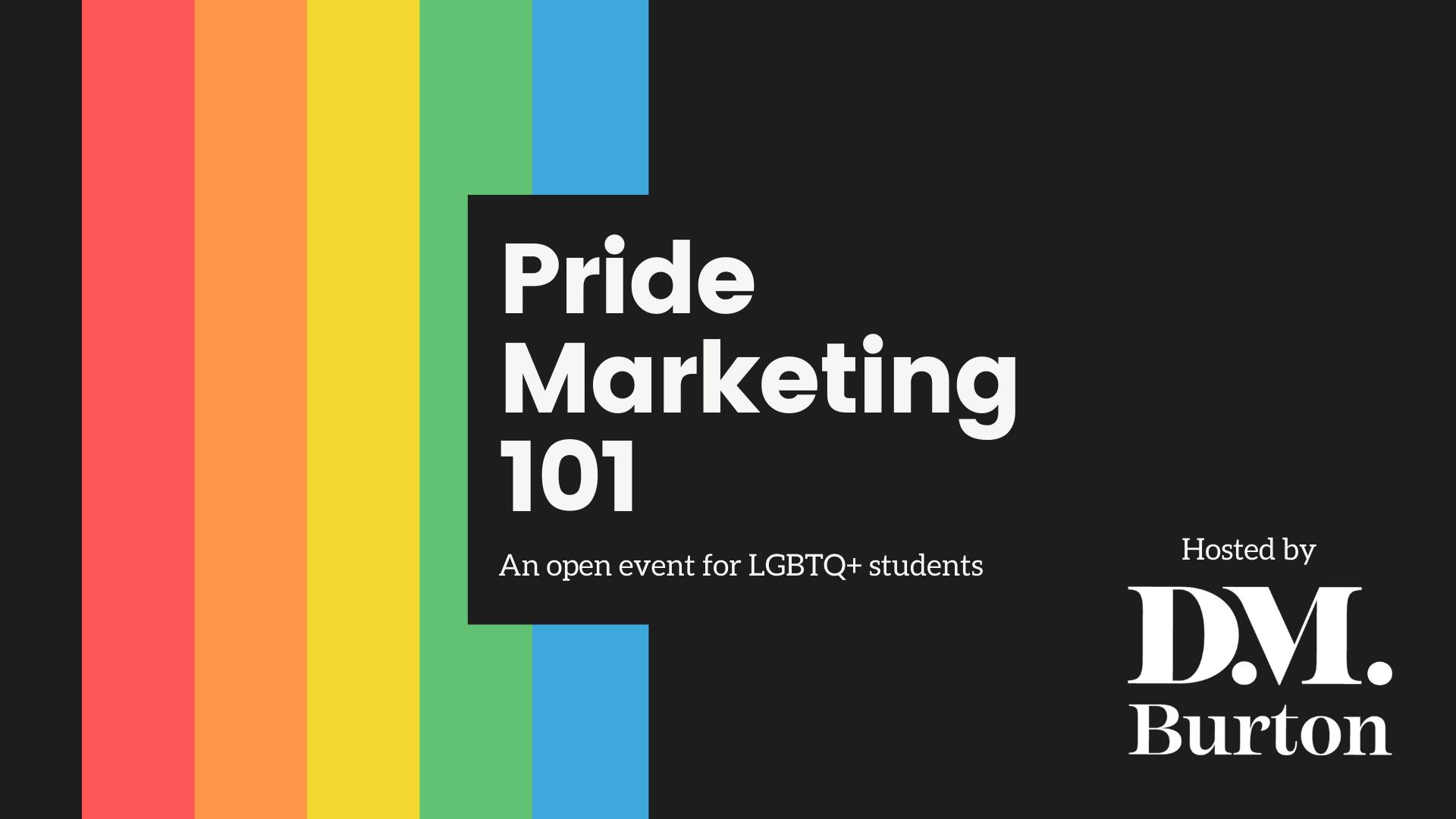 Pride Marketing 101