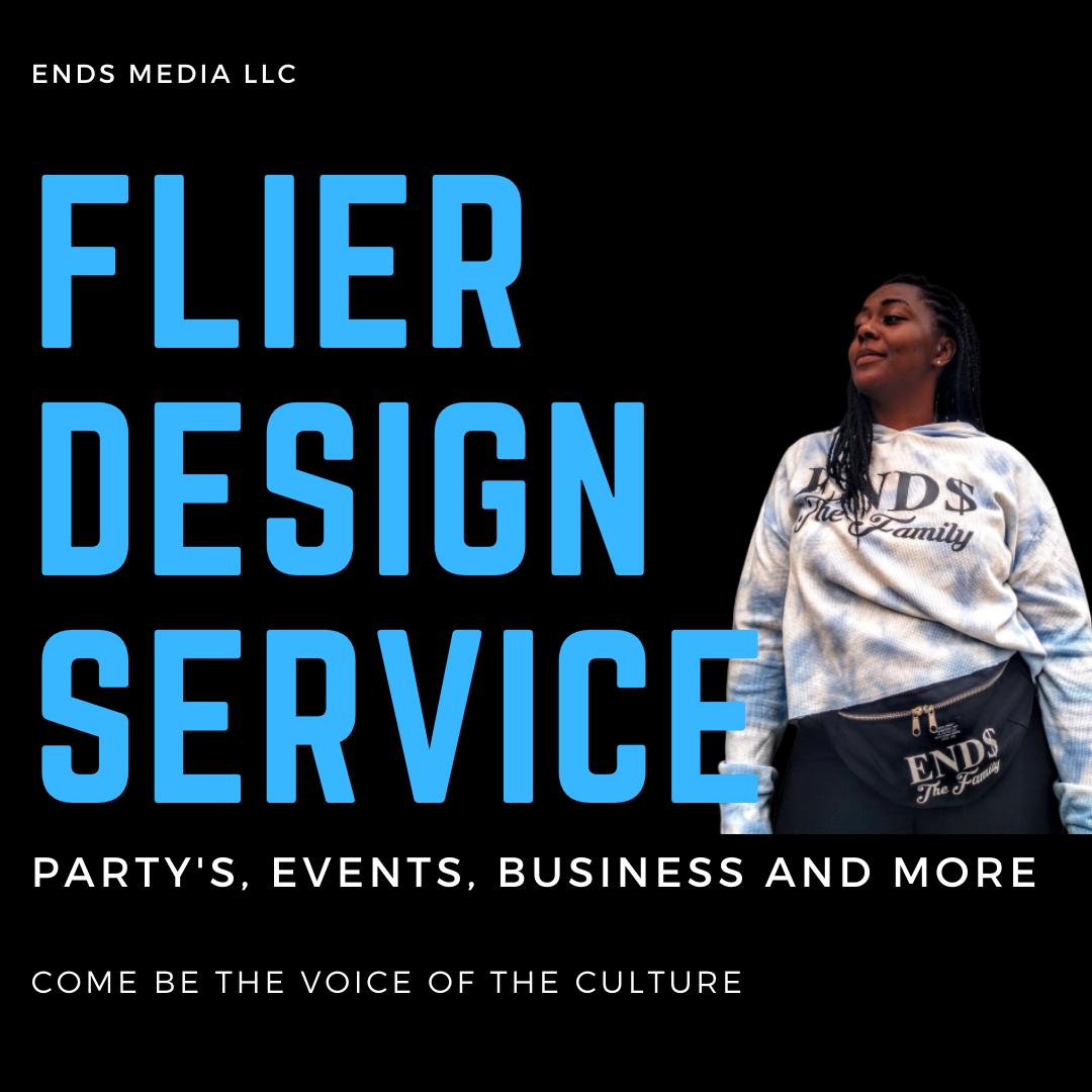 Flier Design Service