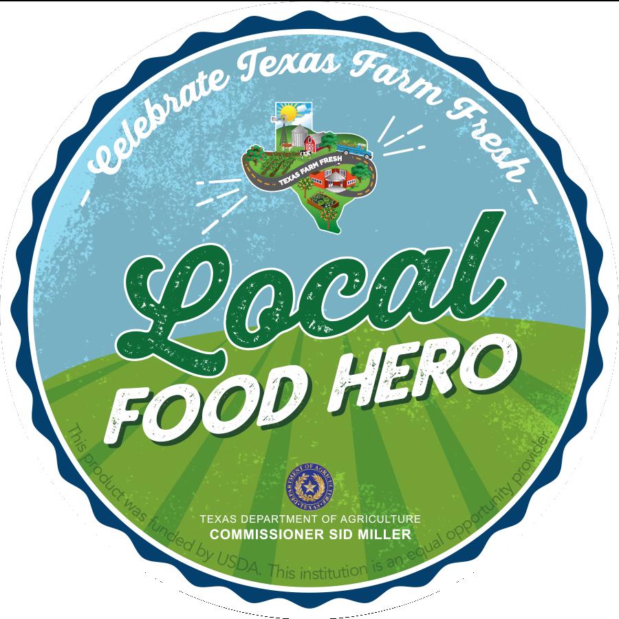 """Local Food Hero"" badge for staff (3 per site)"
