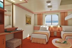 #5 - Ocean View (Deck 1&2) $1535 cabin price