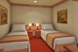 #2 -Interior (Deck 2) $1315 cabin price