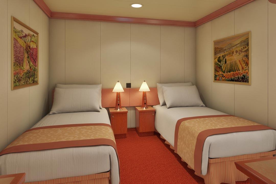 #1 - Interior Category 4a (Deck 1) $730 per person