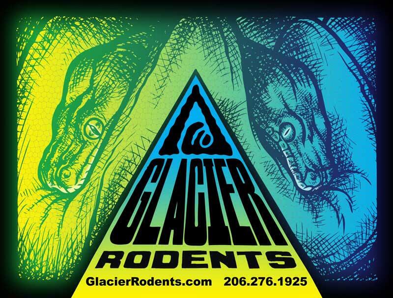 Glacier Rodents Logo