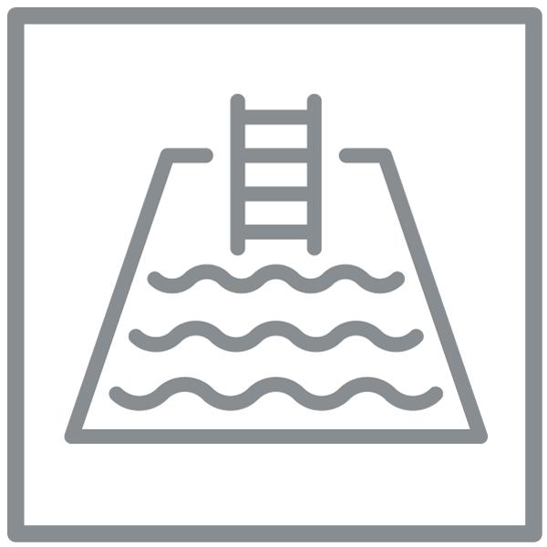 Exercícios na água (natação, hidro, etc)