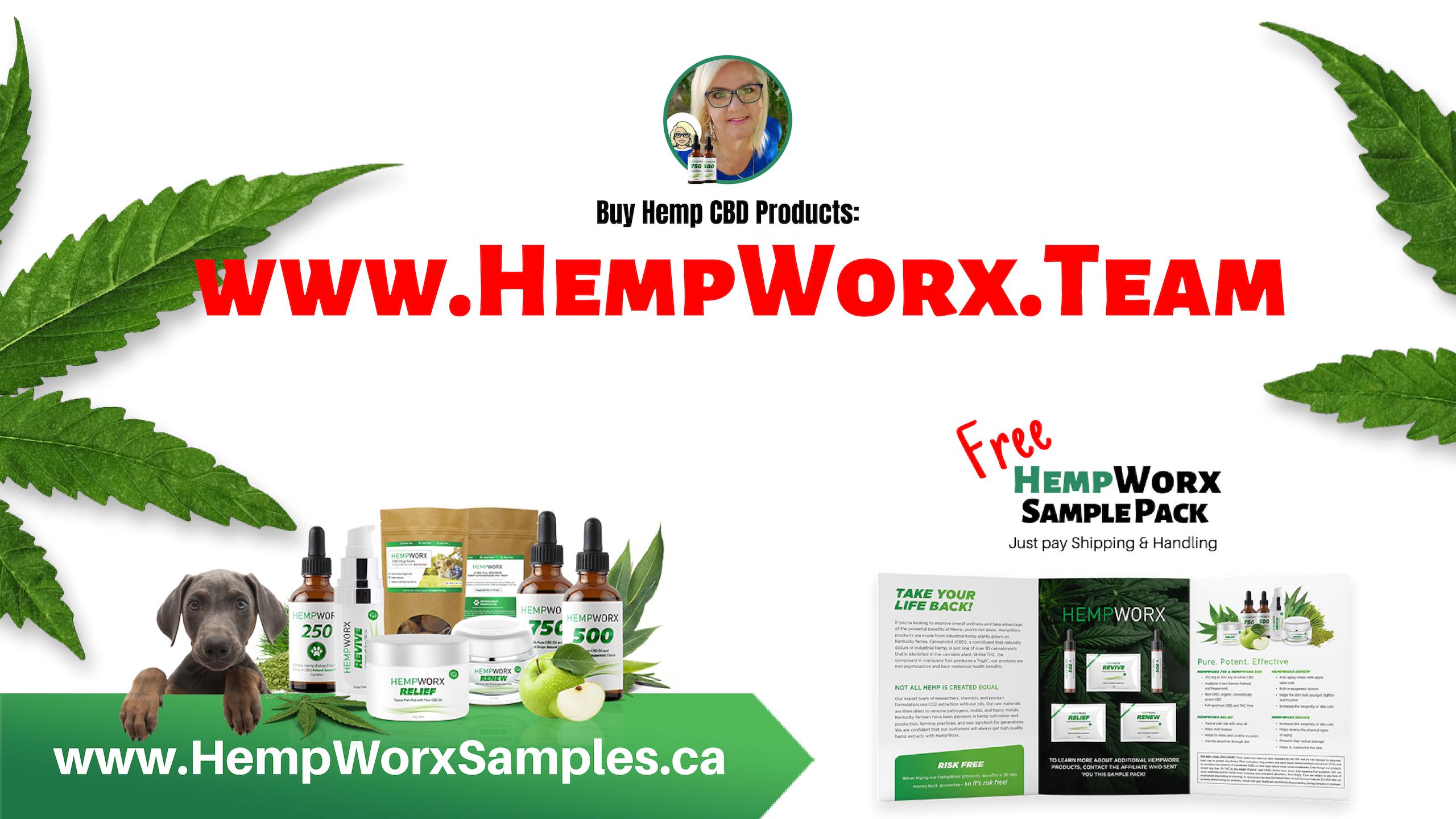 www.HempWorxSamples.ca