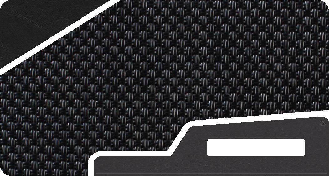 Black Woven Vinyl Colorway