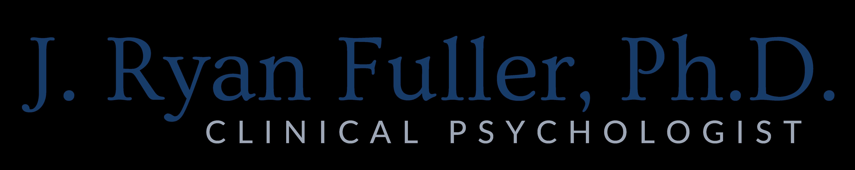 J Ryan Fuller, Ph.D. - Schedule an Appointment