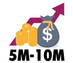 $5M-$10M