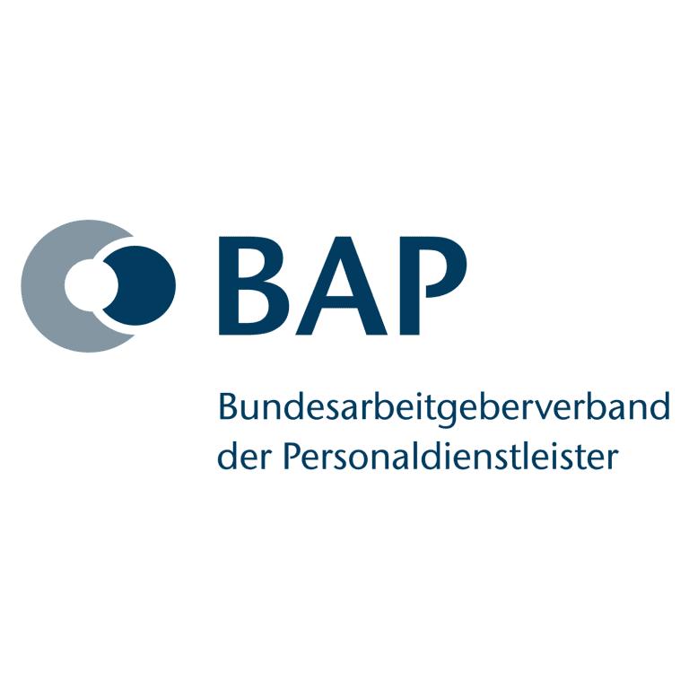 Wir sind Mitglied im Bundesarbeitgeberverband der Personaldienstleister (BAP)