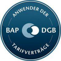 Wir sind Anwender der BAP-DGB-Tarifverträge und garantieren faire Entlohnung