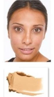 Medium skin with rosy or ruddy undertones