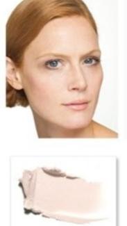 Fair skin with pink undertones, burns easily