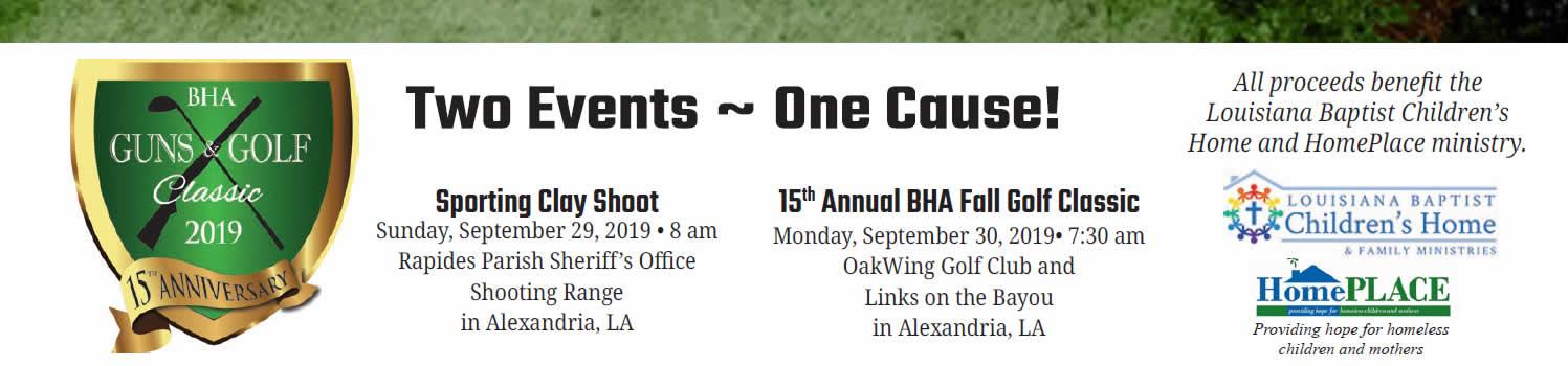 BHA Guns & Golf Classic 2019