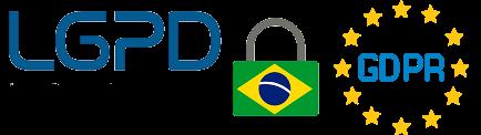 Formulário criptografa e com a conformidade de Dados da GDPR Européia e LGPD Brasileira. Encrypted form and with the compliance of Data of the European GDPR and Brazilian LGPD.