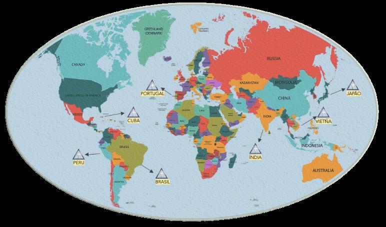Mapa-múndi Sri Ramaatiys