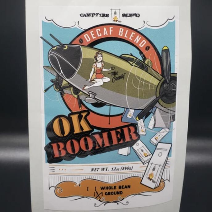 OK Boomer Decaf Blend | $12.75