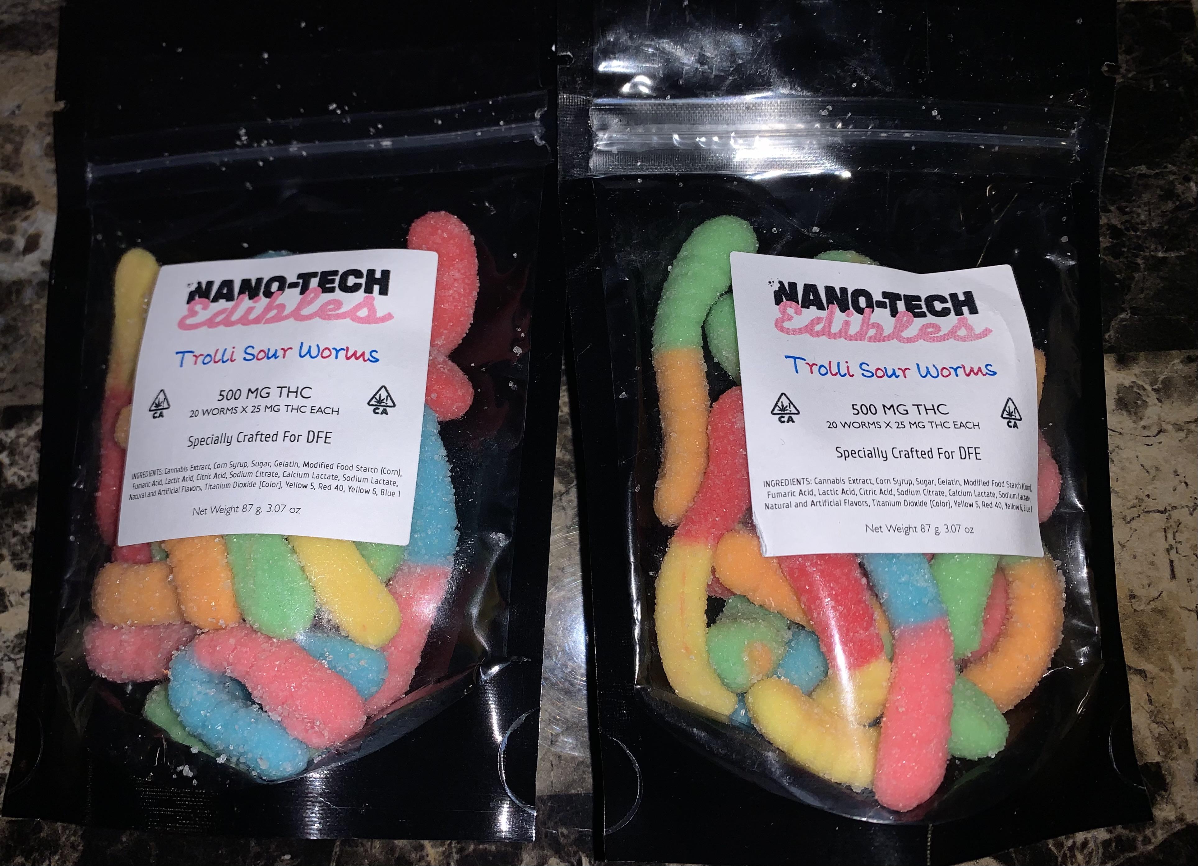 Nanotechnology Edibles:  Trolli Sour Worms