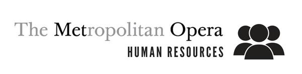 The Metropolitan Opera Human Resources Logo