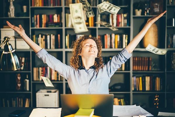 Ja, mehr Umsatz und mehr Mitarbeiter haben direkt zu mehr Geld auf meinem Konto geführt.