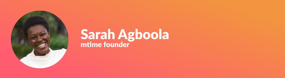 Sarah Agboola