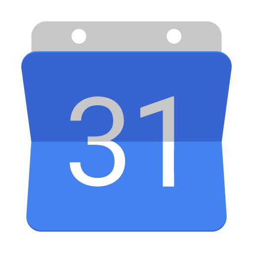 Click to go to Google Calendar