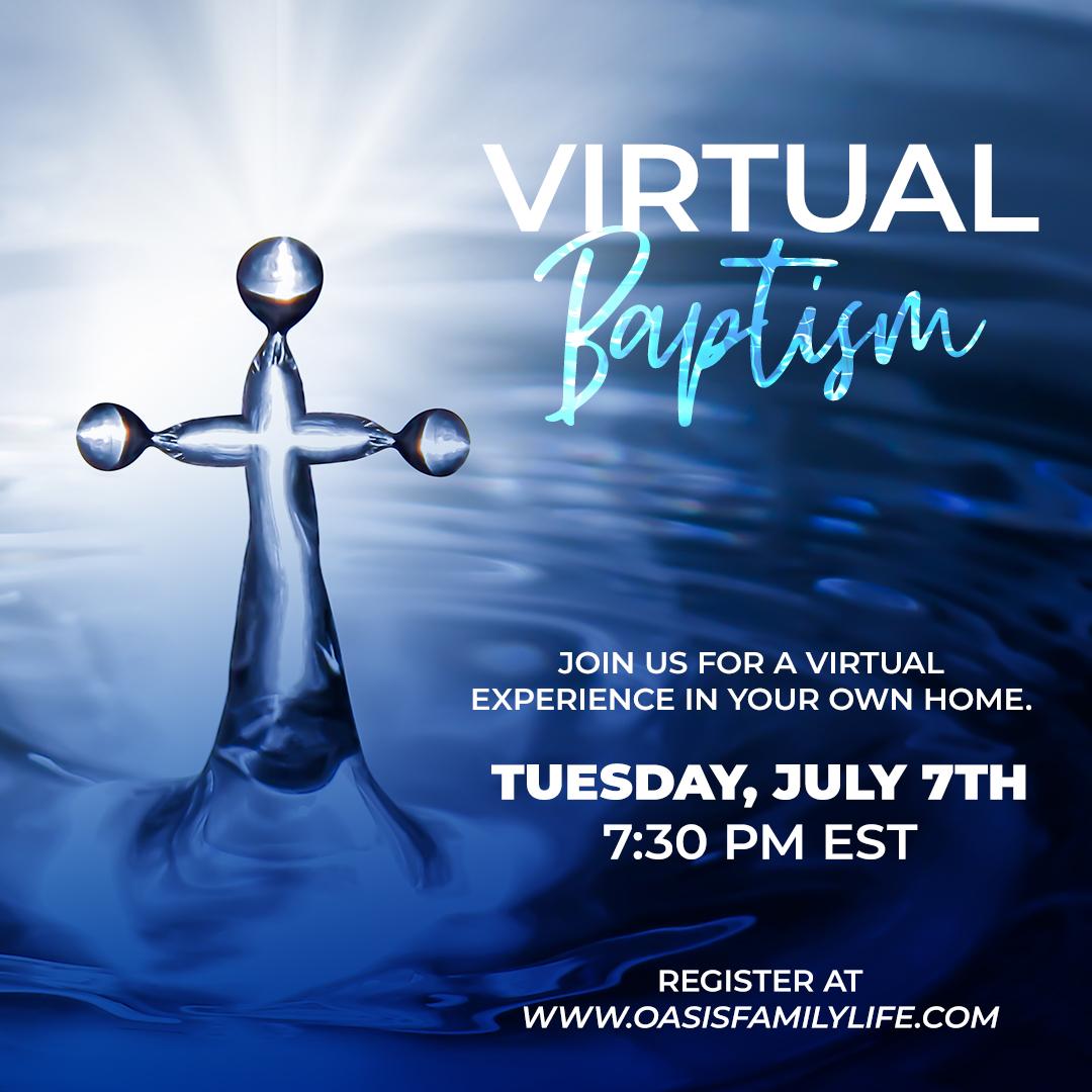 Virtual Baptism Registration